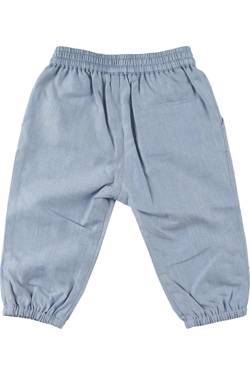 Baby Dior Baby Pants for Boys On Sale Blue Sky DK - GOOFASH - Mens TROUSERS