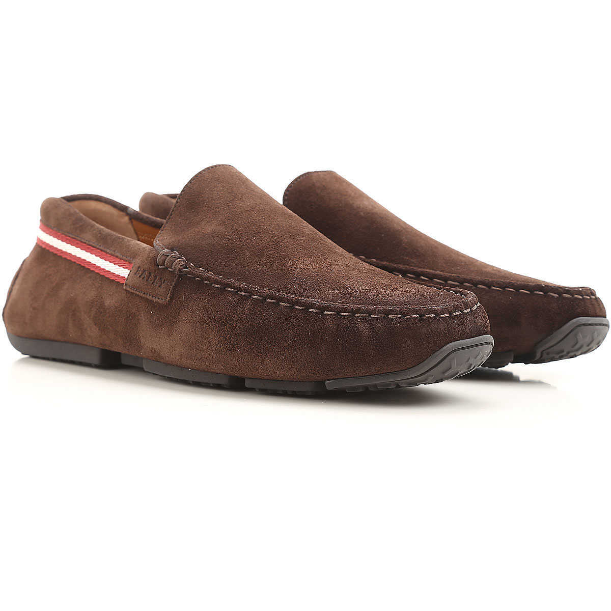 Bally Slip on Sneakers for Men On Sale in Outlet Coffee DK - GOOFASH - Mens SNEAKER