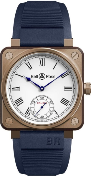 Bell & Ross Aviation Instruments Men's Watch BR01-CM-203-B-P-034 White USA - GOOFASH - Mens WATCHES