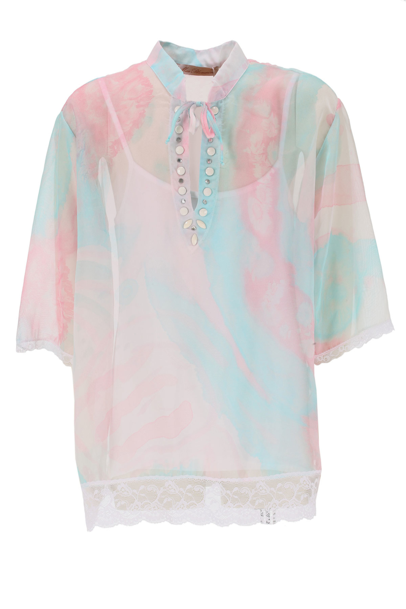 Blumarine Kids Shirts for Girls On Sale in Outlet Pink DK - GOOFASH - Womens SHIRTS