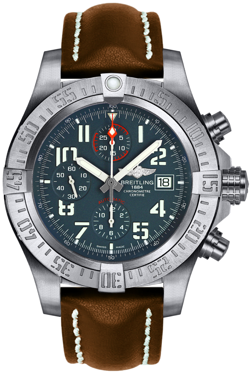 Breitling Avenger Bandit Titanium Watch E1338310/M536-437X Grey USA - GOOFASH - Mens WATCHES