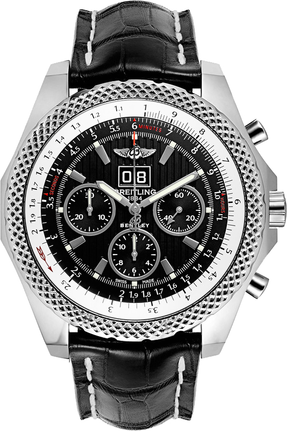 Breitling Bentley 6.75 A4436412/BE17-760P Black USA - GOOFASH - Mens JEWELRY