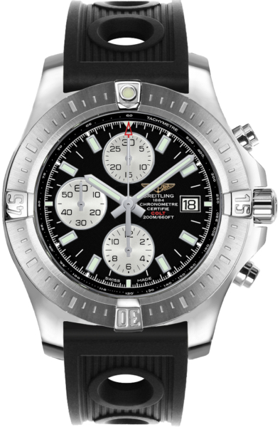 Breitling Colt Chronograph Automatic Men's Sport Watch A1338811/BD83-200S Black USA - GOOFASH - Mens WATCHES