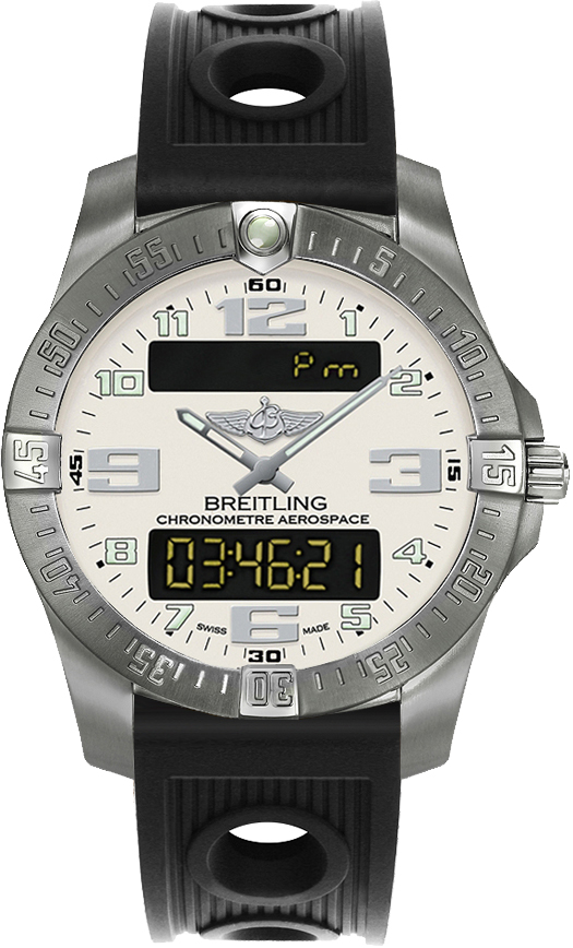 Breitling Professional Aerospace Evo Limited Edition Men's Watch E793637V/G817-200S Silver USA - GOOFASH - Mens WATCHES