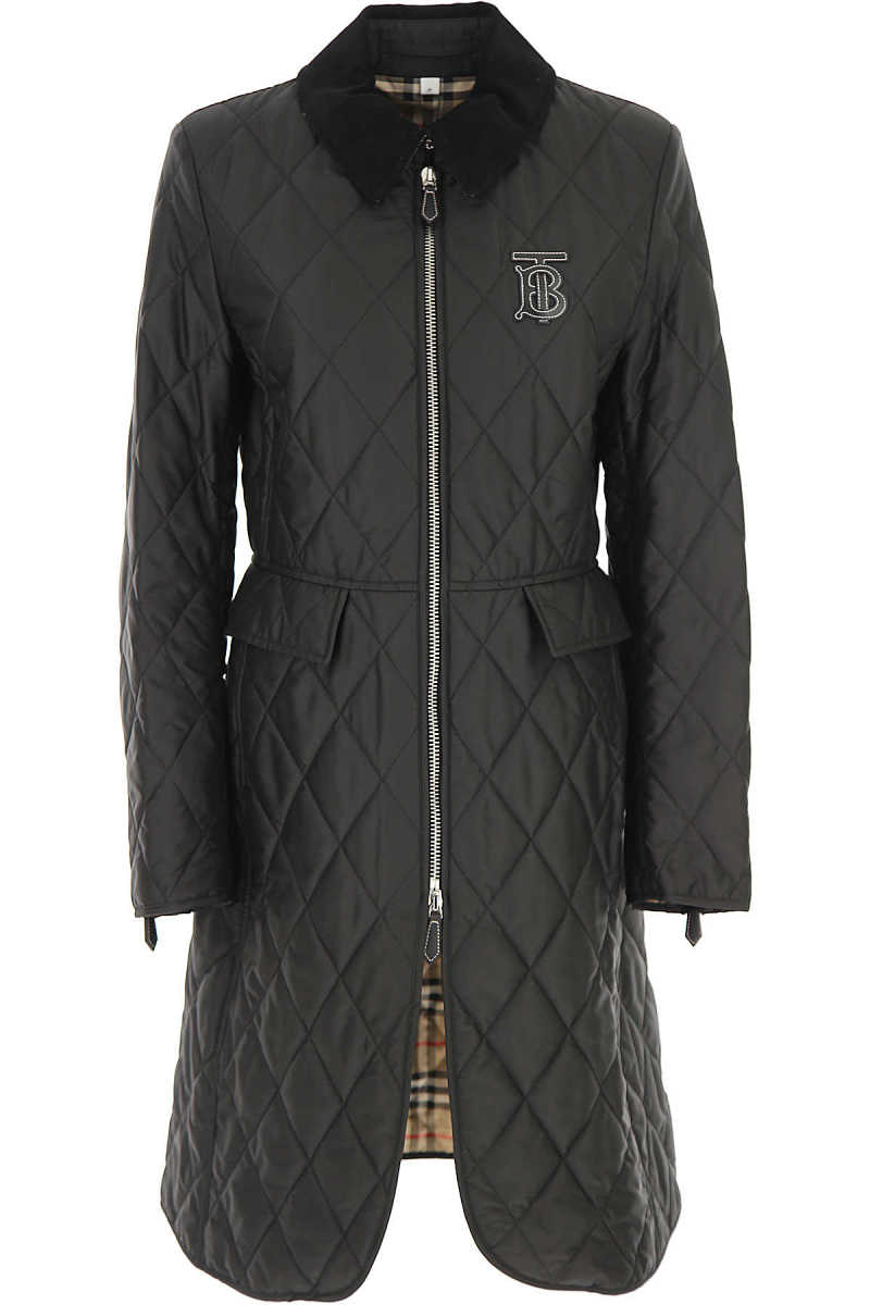 Burberry Jacket for Women Black DK - GOOFASH - Womens JACKETS