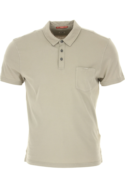 C.P. Company Polo Shirt for Men On Sale Pale Mud DK - GOOFASH - Mens POLOSHIRTS
