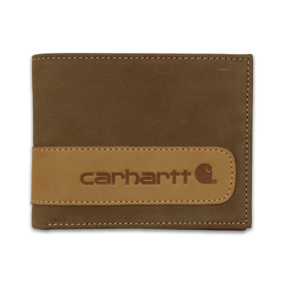 Carhartt Two-Tone Billfold with Wing Wallet Carhartt Brown USA - GOOFASH - Mens WALLETS