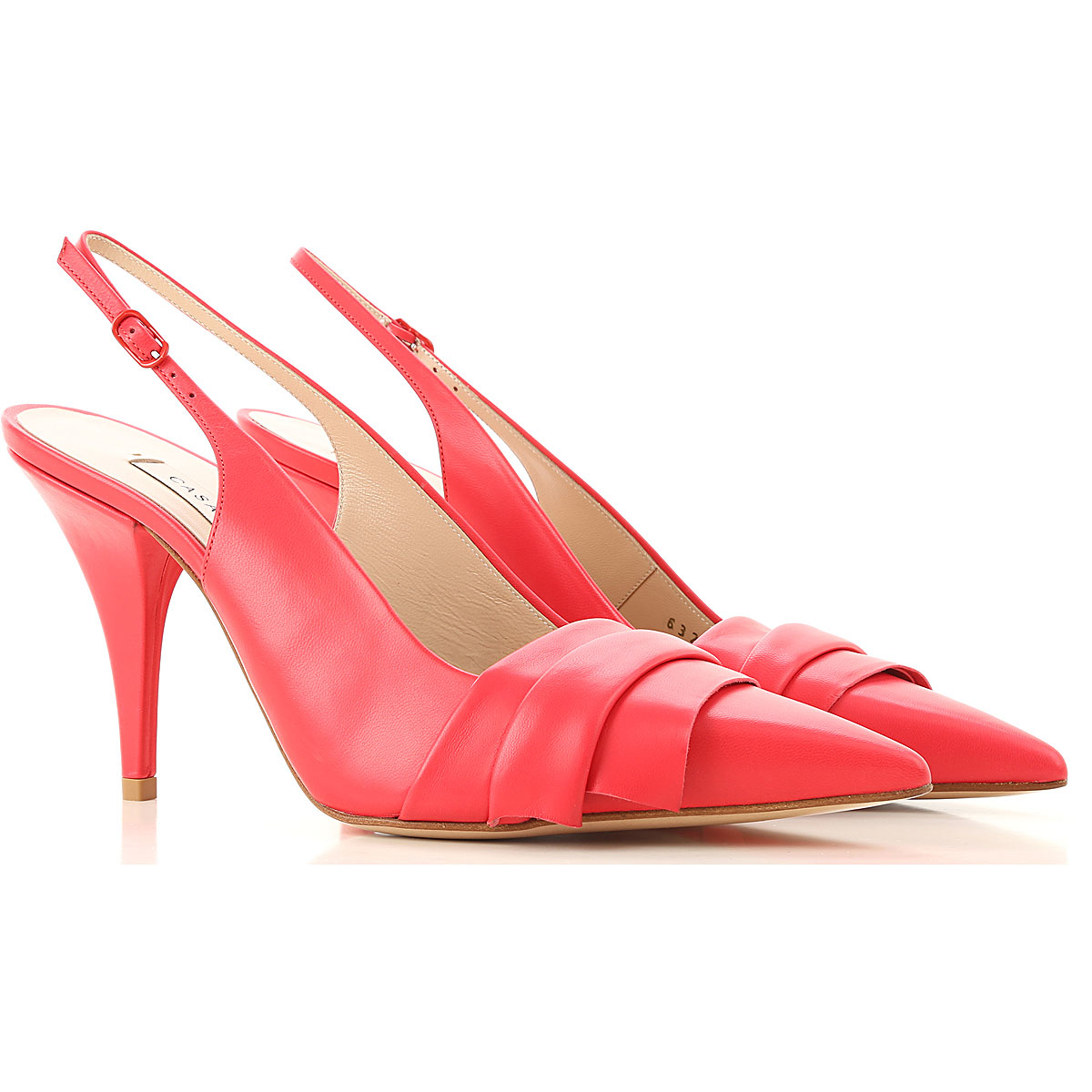 Casadei Sandals for Women On Sale Energy Red DK - GOOFASH - Womens SANDALS
