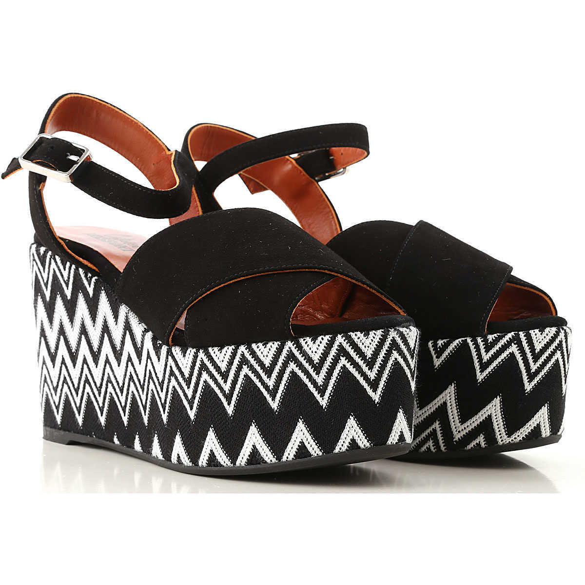Castaner Wedges for Women On Sale Black DK - GOOFASH - Womens HOUSE SHOES