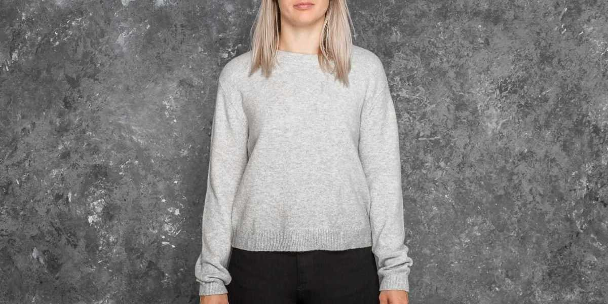 Cheap Monday Open Knit Grey Melange USA - GOOFASH - Womens KNITWEAR