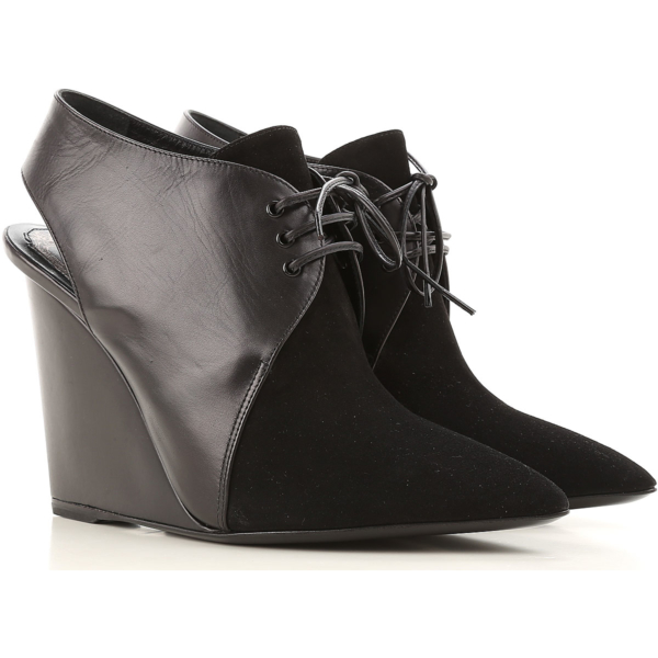 Christian Dior Wedges for Women On Sale in Outlet Black DK - GOOFASH - Womens HOUSE SHOES