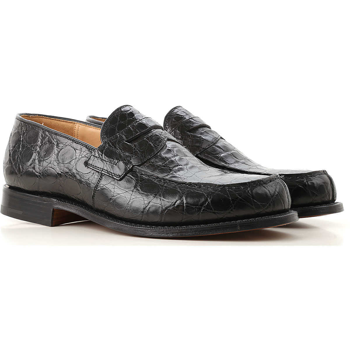 Church's Loafers for Men On Sale in Outlet Black DK - GOOFASH - Mens LOAFERS