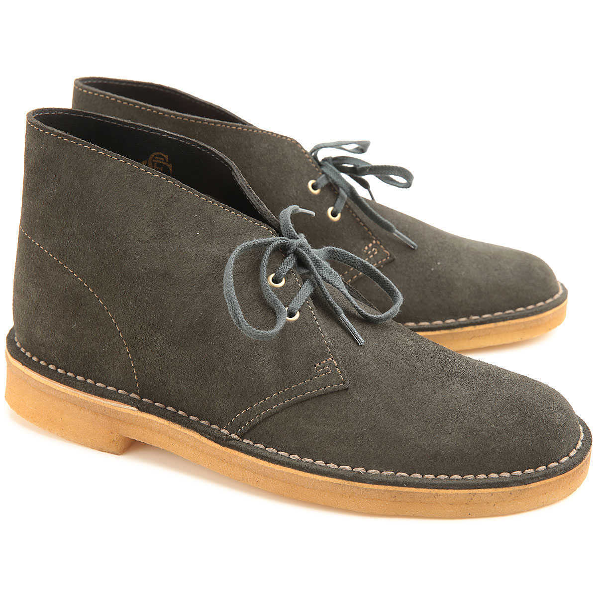 Clarks Boots for Men Booties On Sale DK - GOOFASH - Mens BOOTS