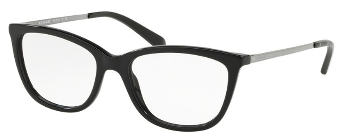 Coach HC 6124 Eyeglasses Solid Black USA - GOOFASH - Womens SUNGLASSES