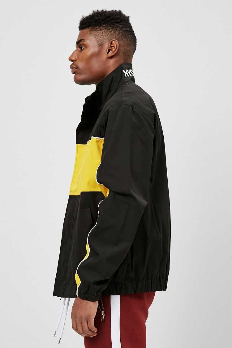 Colorblock Hysteria Graphic Jacket at Forever 21