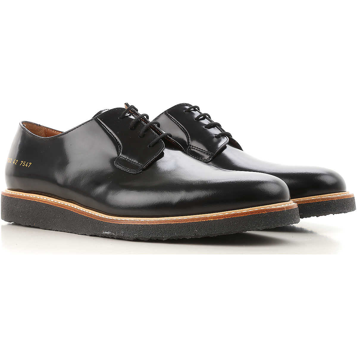 Common Projects Lace Up Shoes for Men Oxfords Derbies and Brogues On Sale DK - GOOFASH - Mens FORMAL SHOES