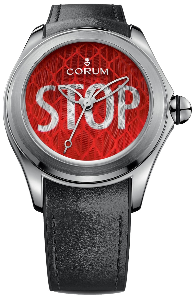 Corum Bubble 52 Limited Edition #1 of 88 Men's Watch 403.101.04/0601 ST01 Red USA - GOOFASH - Mens WATCHES