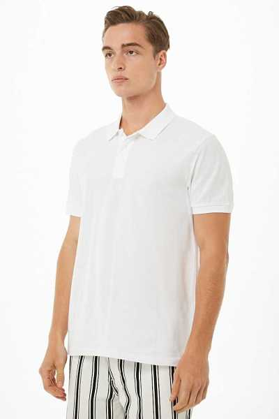 Cotton Polo Shirt at Forever 21