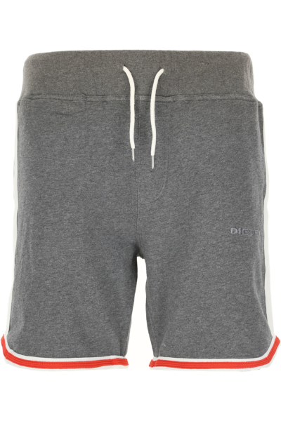 Diesel Shorts for Men On Sale Melange Grey DK - GOOFASH - Mens SHORTS