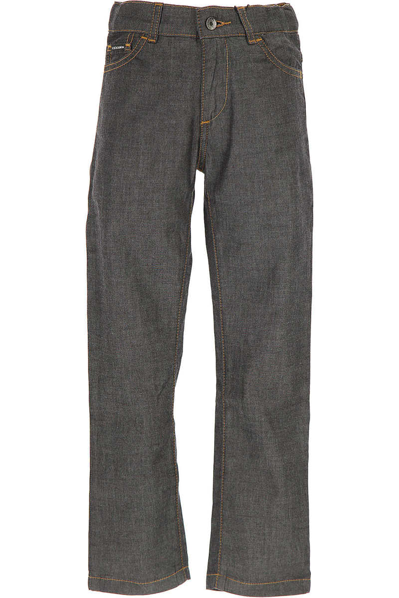Dolce & Gabbana Kids Jeans for Boys On Sale in Outlet antracite DK - GOOFASH - Mens JEANS