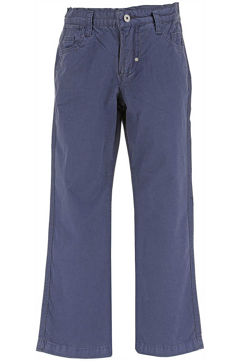 Dolce & Gabbana Kids Pants for Boys On Sale in Outlet Blue DK - GOOFASH - Mens TROUSERS