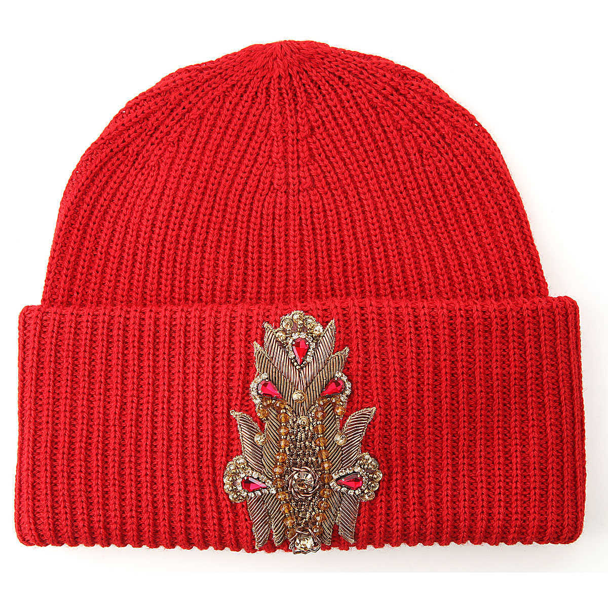 Dondup Hat for Women Red DK - GOOFASH - Womens HATS