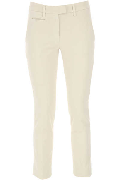 Dondup Pants for Women Ice Grey DK - GOOFASH - Womens TROUSERS