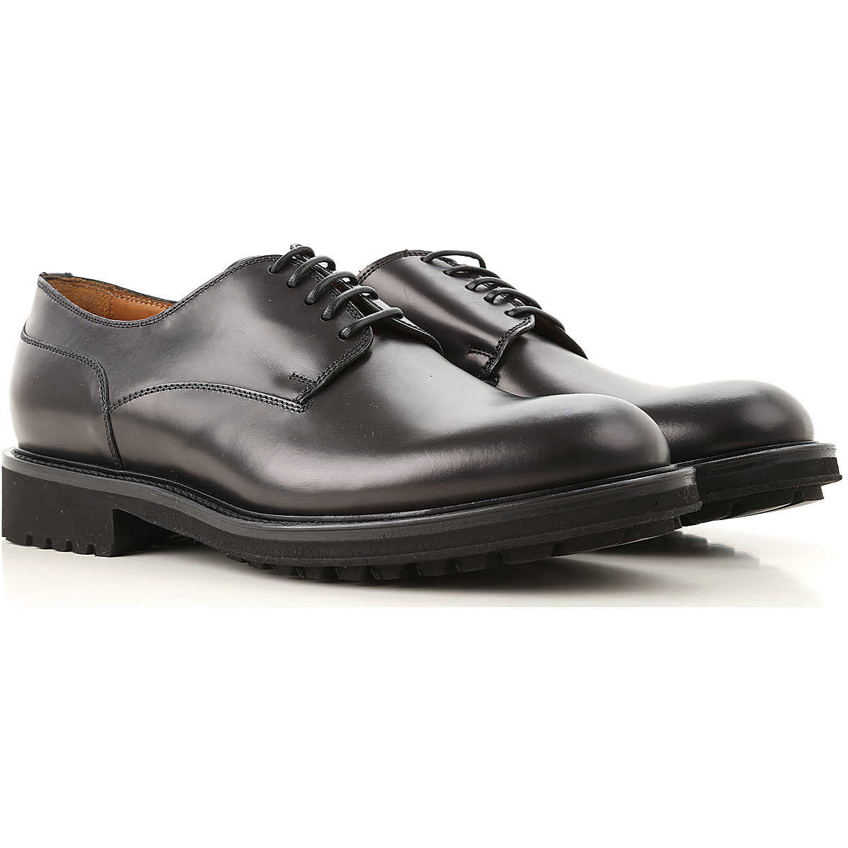 Doucals Lace Up Shoes for Men Oxfords Derbies and Brogues On Sale DK - GOOFASH - Mens FORMAL SHOES