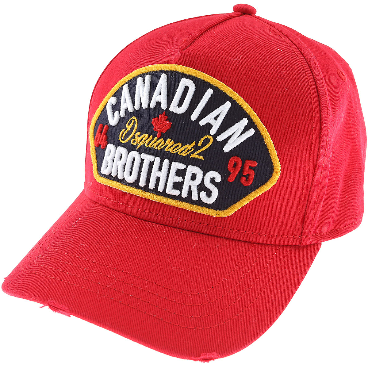 Dsquared2 Hat for Women On Sale in Outlet Red DK - GOOFASH - Mens HATS