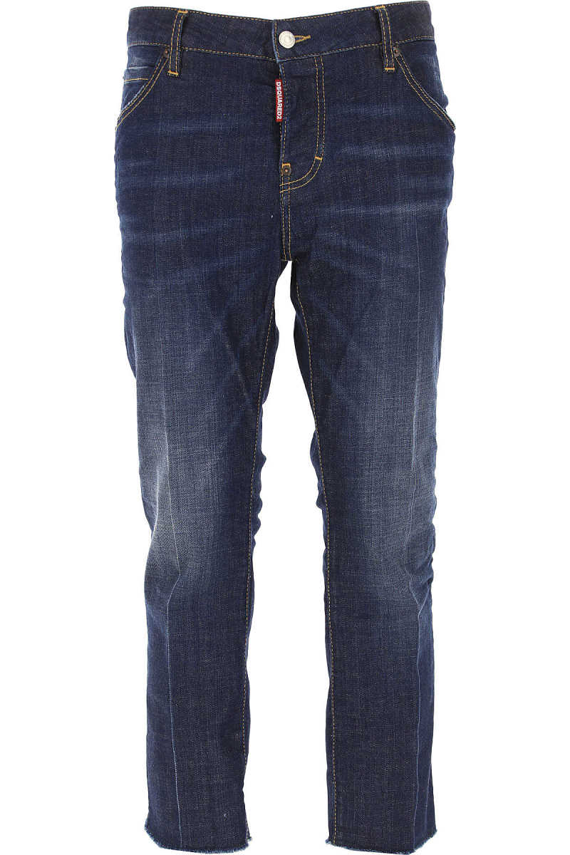 Dsquared2 Jeans On Sale in Outlet Cool Girl Cropped Jean DK - GOOFASH - Womens JEANS