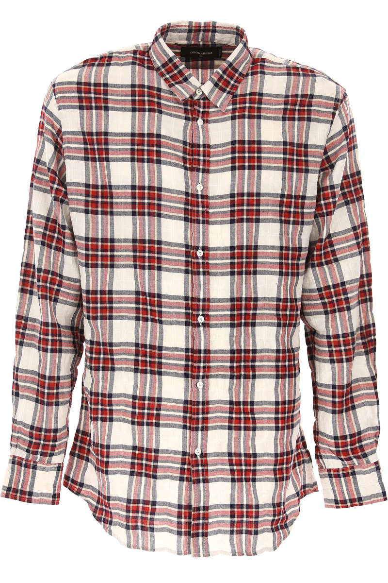 Dsquared2 Shirt for Men On Sale in Outlet Red DK - GOOFASH - Mens SHIRTS