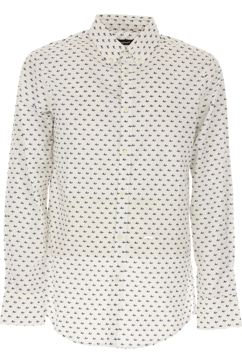 Dsquared2 Shirt for Men On Sale in Outlet White DK - GOOFASH - Mens SHIRTS