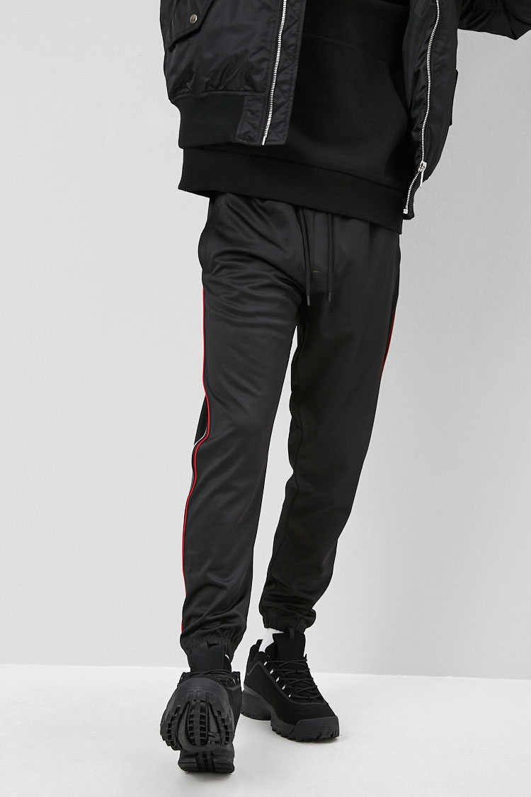 Duo-Tone Trim Joggers at Forever 21