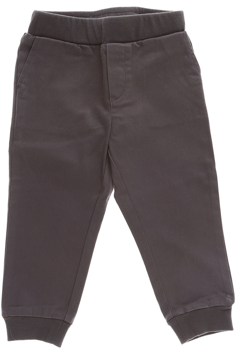Emporio Armani Baby Pants for Boys On Sale in Outlet Dark Grey DK - GOOFASH - Mens TROUSERS