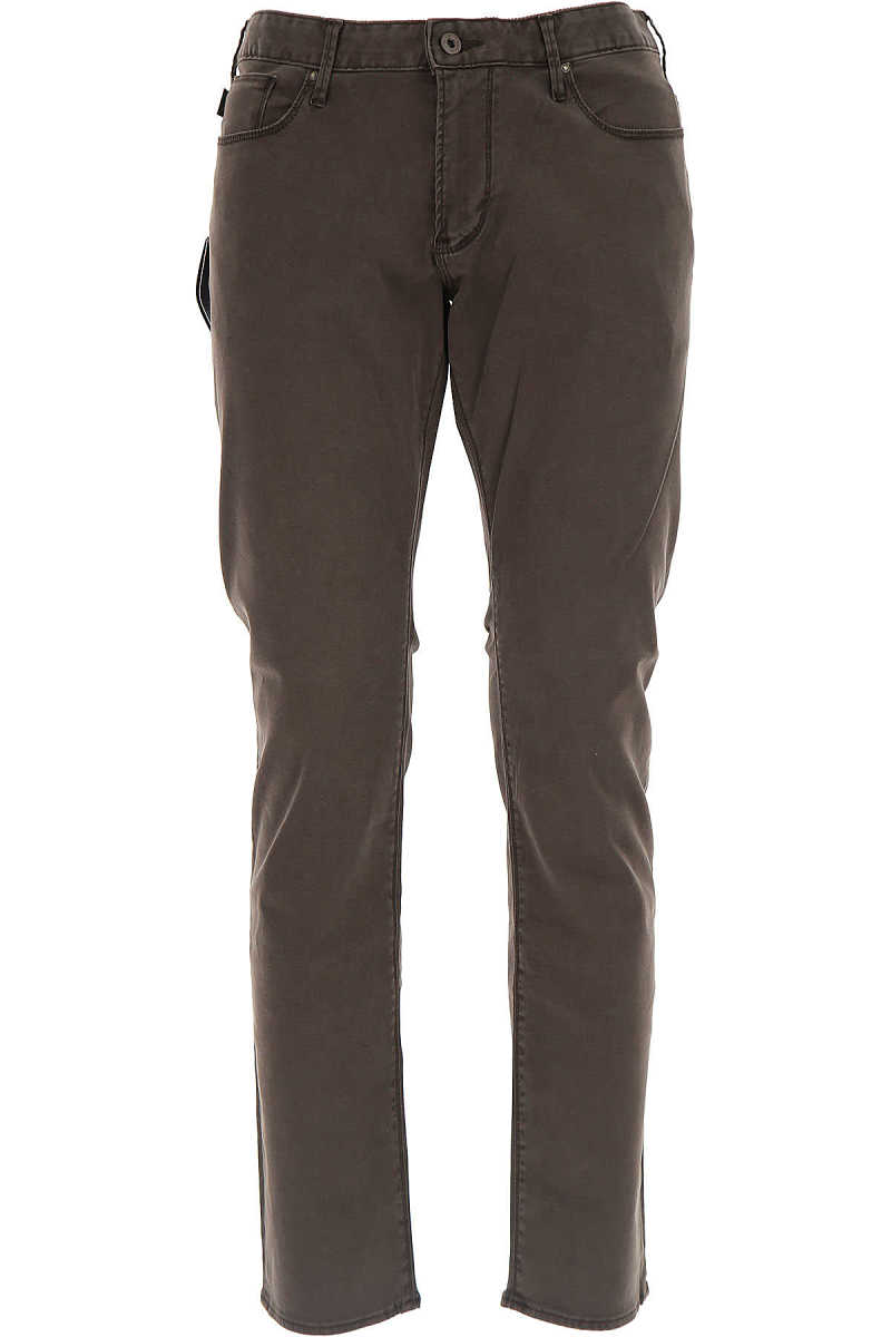 Emporio Armani Jeans On Sale in Outlet Brown DK - GOOFASH - Mens JEANS