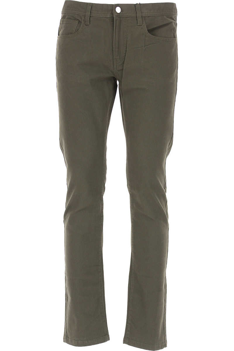 Emporio Armani Jeans On Sale in Outlet Peat Brown DK - GOOFASH - Mens JEANS