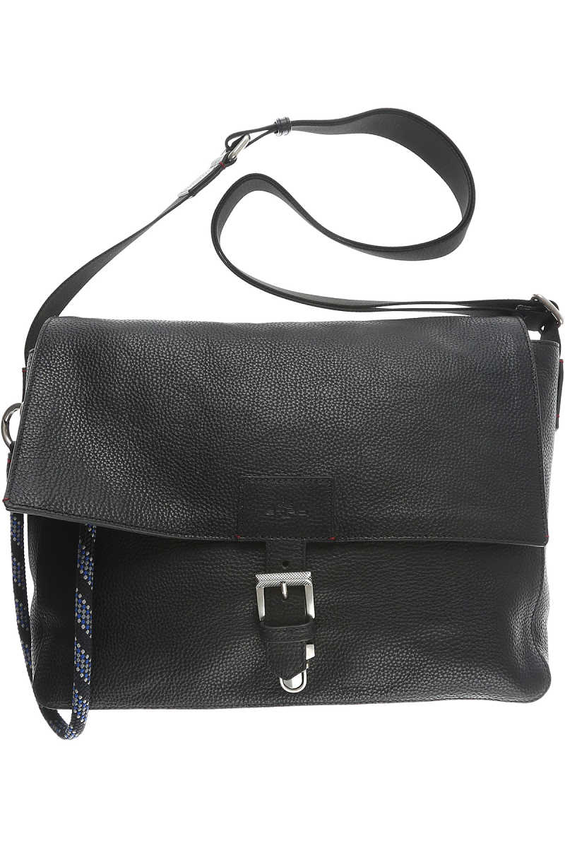 Etro Messenger Bag for Men On Sale Black DK - GOOFASH - Mens BAGS