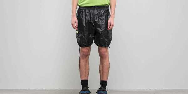"FTSHP + LAFORMELA ""No Season"" Drawstring Shorts Black USA - GOOFASH - Mens SHORTS"