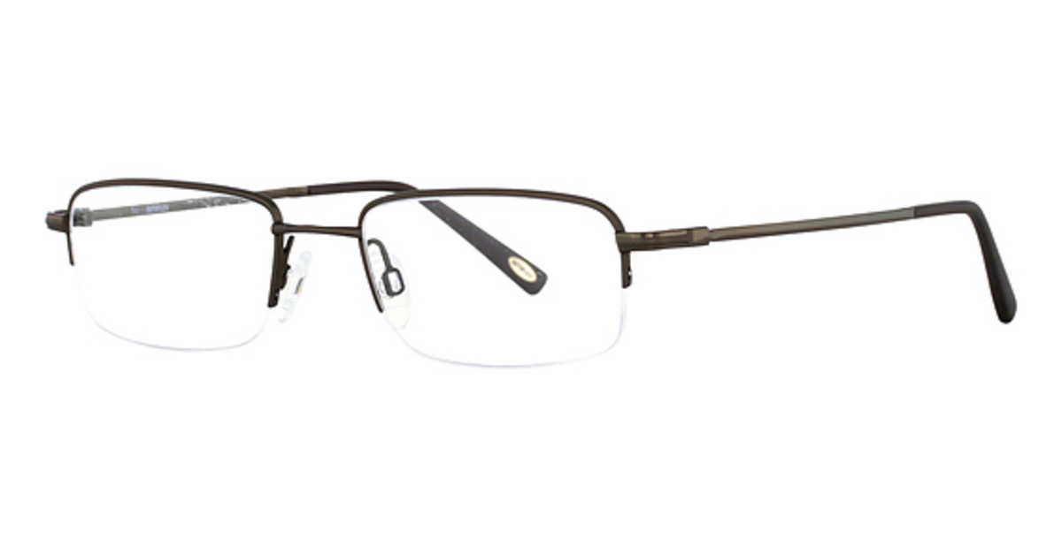 Flexon Autoflex Bulldog Eyeglasses (033) Dark Gunmetal USA - GOOFASH - Mens SUNGLASSES