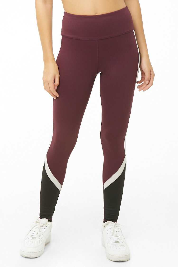 Forever 21 Active Colorblock Leggings