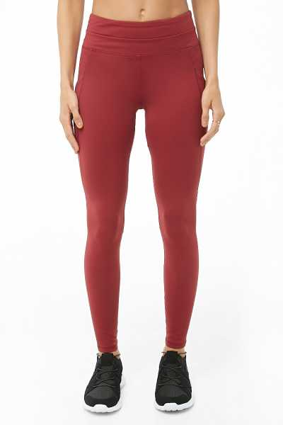 Forever 21 Active Mesh Pocket Leggings