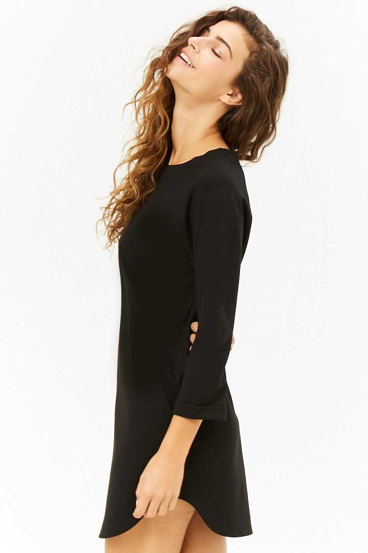 Forever 21 Boxy Slub Knit Mini Dress