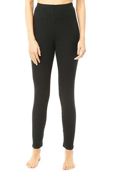 Forever 21 Brushed Cozy Ribbed Knit Leggings