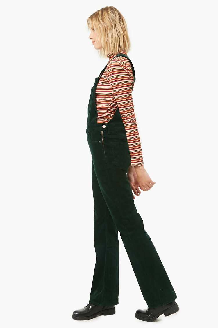 Forever 21 Classic Corduroy Overalls
