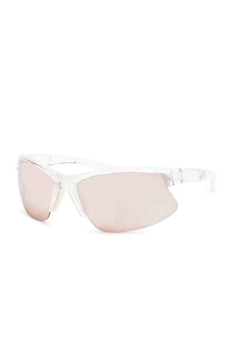 Forever 21 Clear Shield Sunglasses