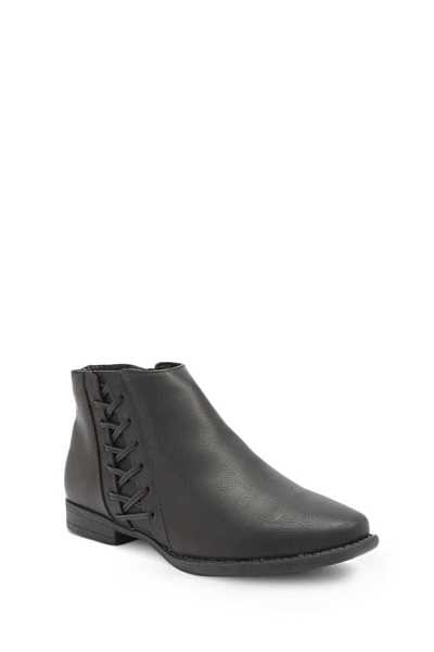 Forever 21 Crisscross Ankle Booties