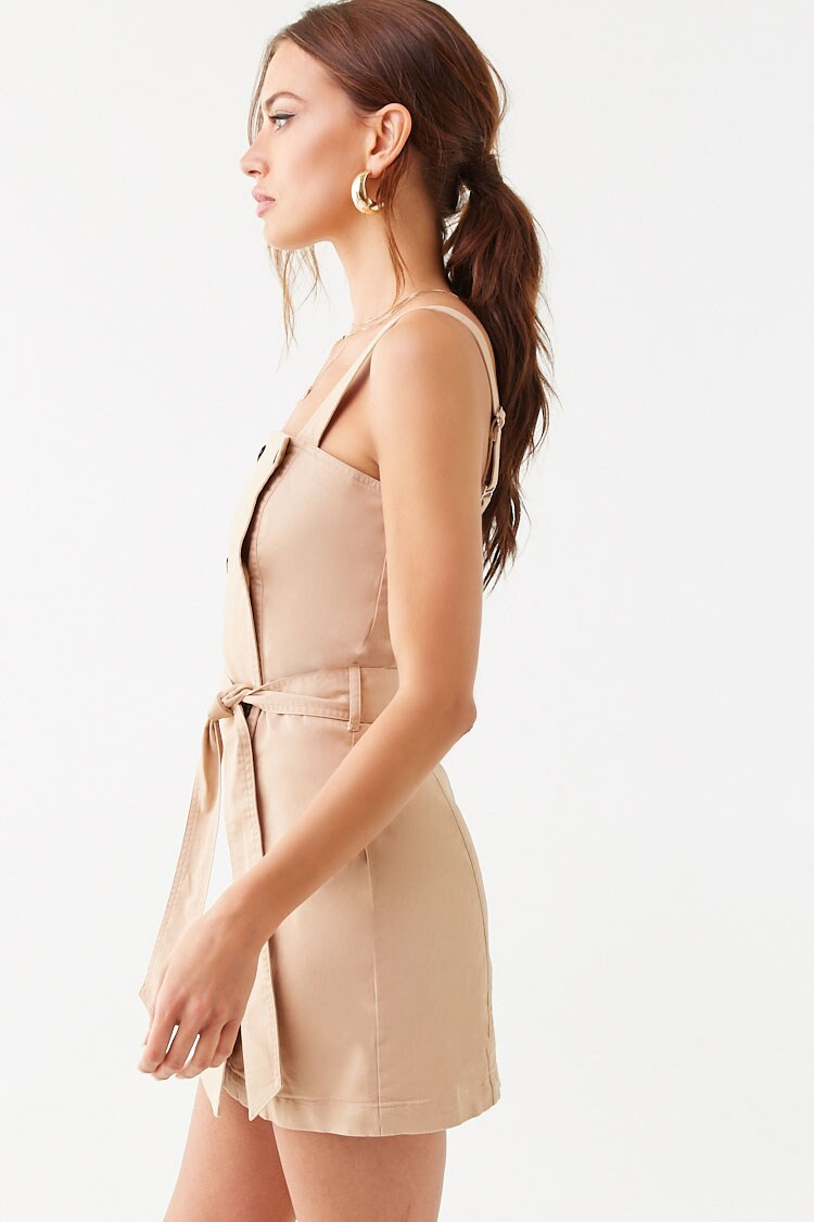 Forever 21 Double-Breasted Mini Dress