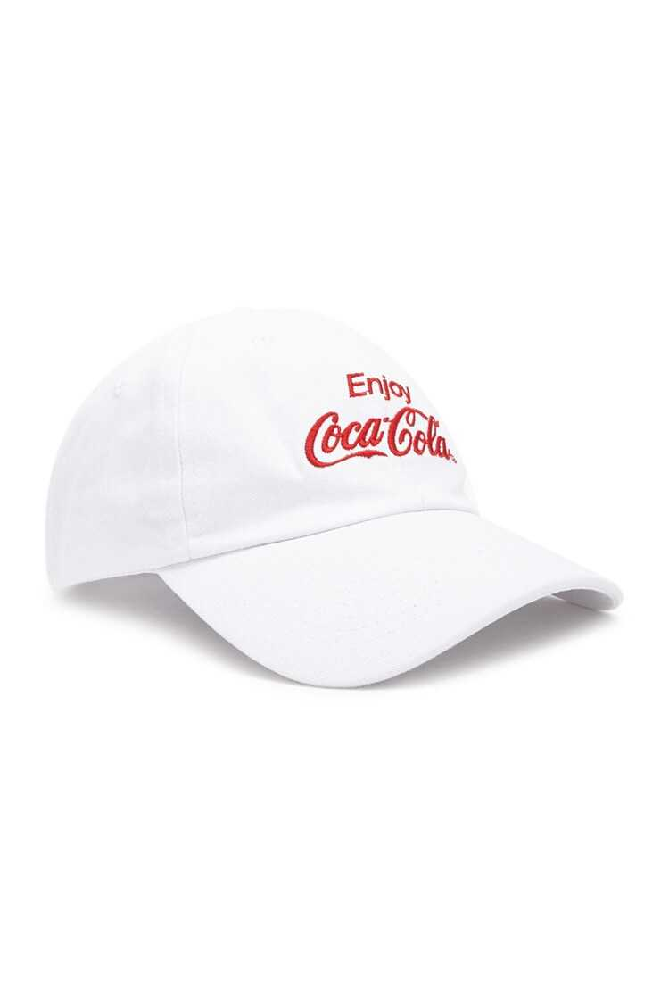 Forever 21 Enjoy Coca-Cola Graphic Dad Cap