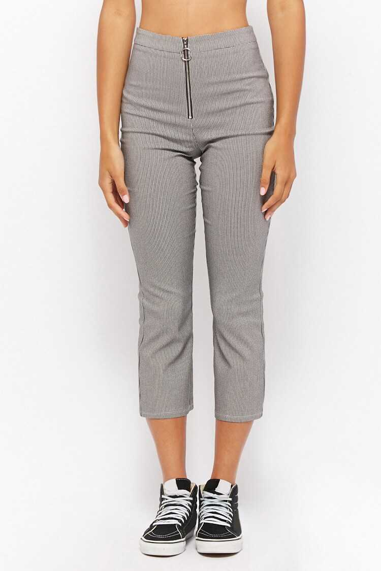 Forever 21 Houndstooth Ankle Pants