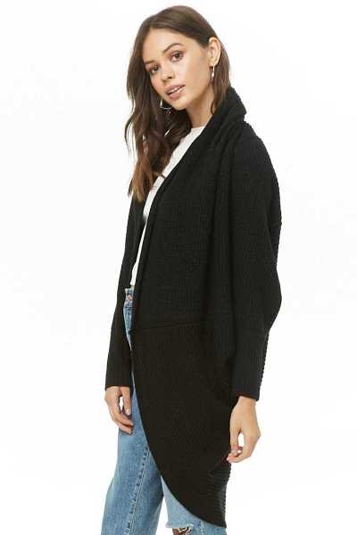 Forever 21 Knit Cocoon Shawl Cardigan